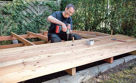 Bauanleitung Holz