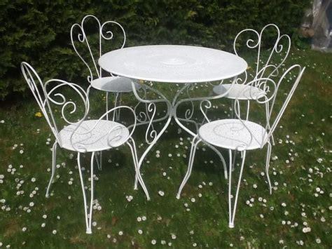 table de jardin en fer forge occasion table de jardin en fer forge occasion survl
