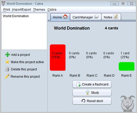 Create Flash Cards With Multiplatform Software Cabra  Ghacks Tech News