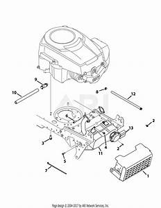 Mtd 13ax771s004  2012  Parts Diagram For Engine