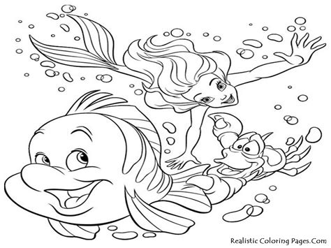 sea life coloring pages realistic coloring pages