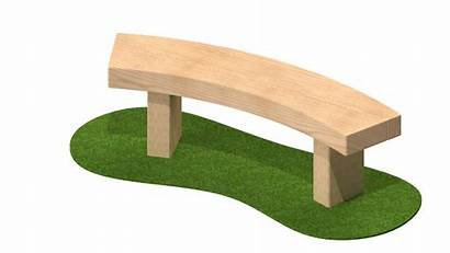 Curved Bench Benches Sleeper Seating 3m