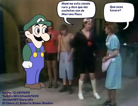 Quico And Weegee Spanish Comic By Cristiandarkradx2496 On