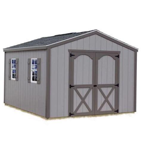 best barns elm 10 ft x 12 ft wood storage shed kit elm