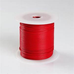 500ft Red High Performance Primary Wire 22 Gauge Awg With