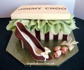 Designer Shoe Birthday Cakes for Women