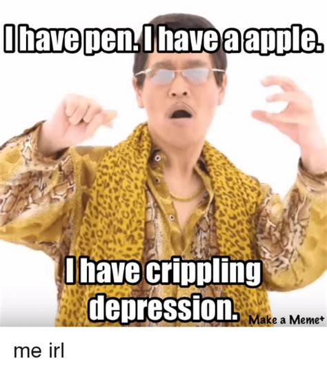 Crippling Depression Memes - i have crippling depression iamatrashfan mood killingstalking meme on me me