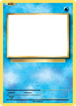 blank water pokemon card theveliger