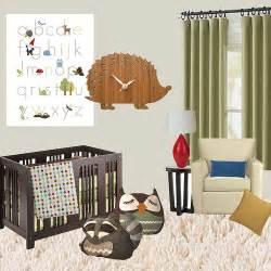 mod woodland creature nursery idea board flickr photo