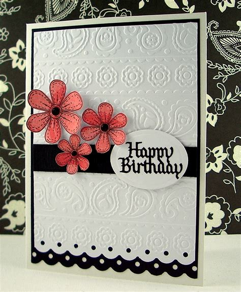 jenfa cards whimsical flowers
