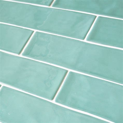 Bronx Turquoise rustic wall tile 7.5x30 cm wall tile