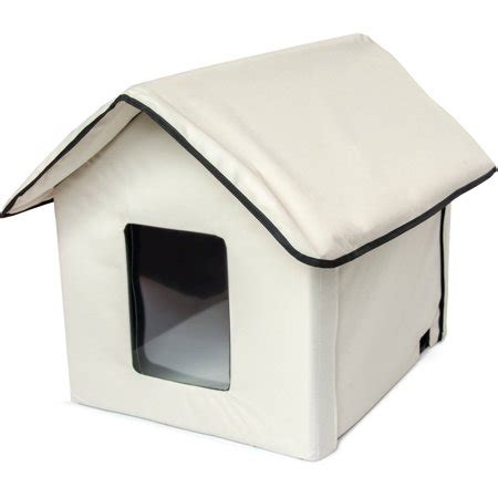 Aleko Phh01s Portable Heated Outdoor Indoor Pet House