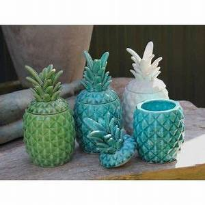 Pineapple Jar - Turquoise For the New Home Pinterest