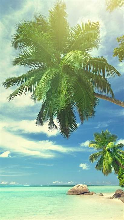 Tropical Summer Paradise Iphone Beach Landscape Wallpapers