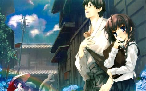 hd cute anime couple images cool p