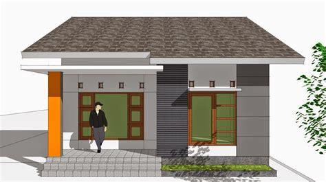 gambar rumah  sederhana  menawan desain