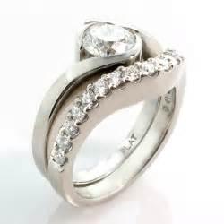Unique Engagement Ring Wedding Band Sets