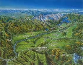 Jackson Hole Wyoming Map