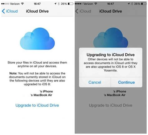 how to update icloud on iphone reminder don t enable icloud drive after upgrading to ios 8