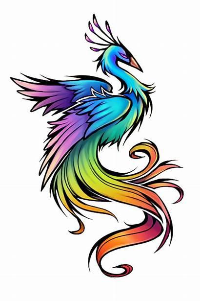Tattoo Bird Peacock Rainbow Tatoo Idea Birds