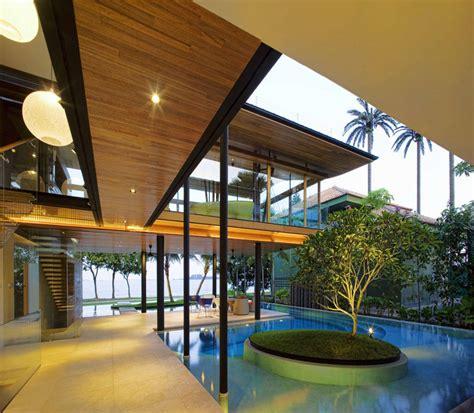 singapore house design environmentally friendly modern tropical house in singapore idesignarch interior design