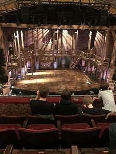 Richard Rodgers Theatre Section Front Mezzanine C Row D