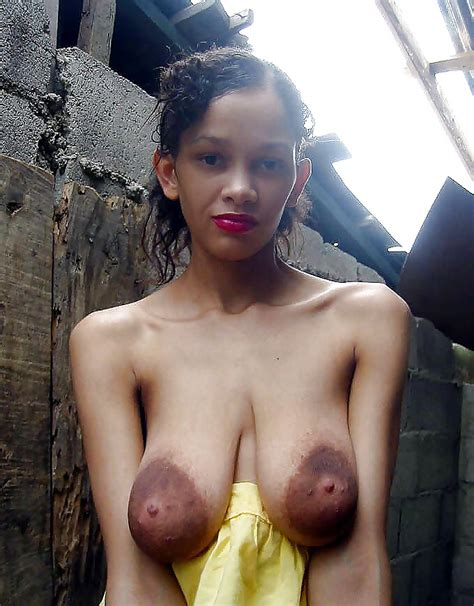 Saggy Tit Young Latina With Huge Areolas 14 Pics