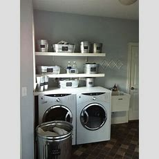 Metal Tubs For Laundry Room Organization Organizing