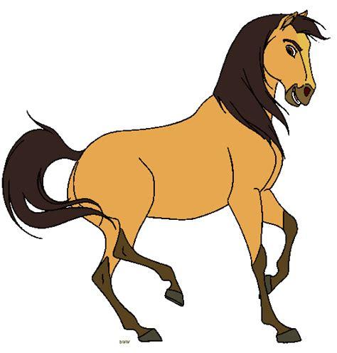 clipart mare spirit stallion of the cimarron clip clip