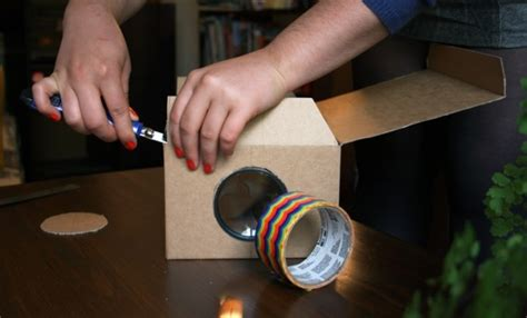 diy learn   homemade smartphone projector