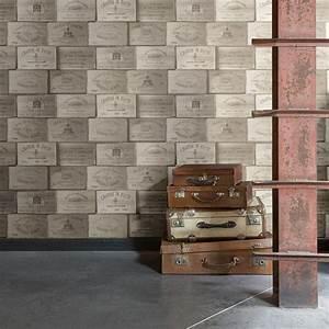 Leroy Merlin Papier Peint Brique : papier peint intiss exposed marron leroy merlin ~ Dailycaller-alerts.com Idées de Décoration