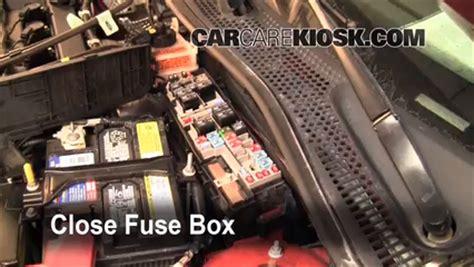 control de fusible quemado en ford focus