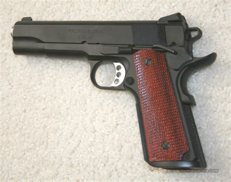 bureau fbi springfield armory 1911 a1 professional 45acp for sale