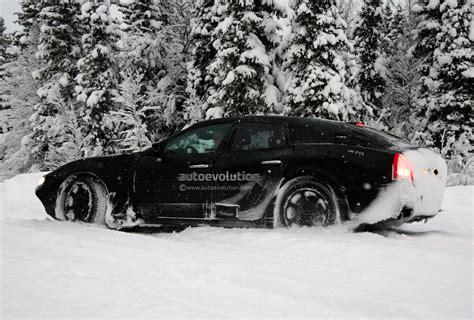 maserati snow spyshots snow covered maserati ghibli spotted testing
