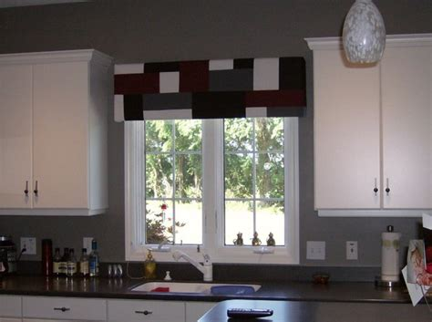 kitchen window valances contemporary kitchen window treatment pictures and ideas 6482
