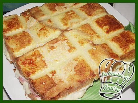 tablette recette cuisine croque tablette croque cake un énorme croque monsieur