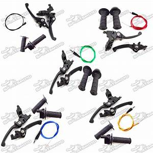Brake Clutch Lever   Throttle Handle Grips   Throttle