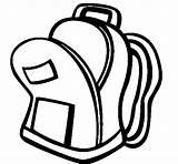 Bag Coloring Ii حقيبه Coloringcrew Dibujo Colorear Para sketch template