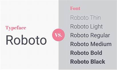 Typeface Font Difference Between Vs Snowball Typography