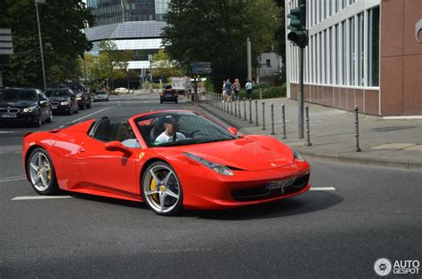 White Ferrari 458 Spider Price