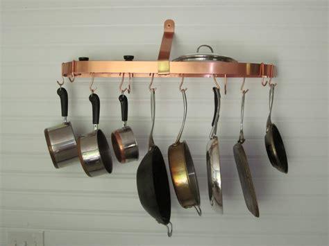 pot hanger pan kitchen rack hangers theydesign