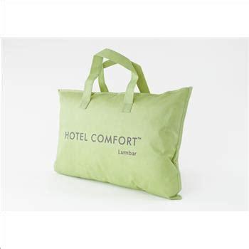 hotel comfort bamboo pillow hotel comfort prestige collection lumbar bamboo pillow