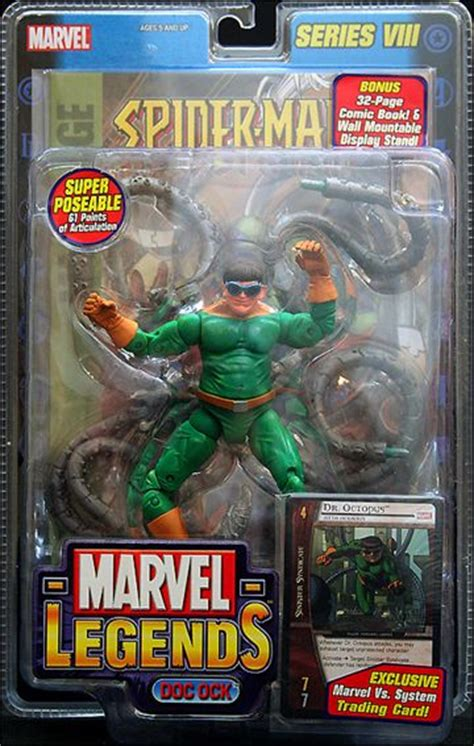 marvel legends  ock doctor octopus dec  action