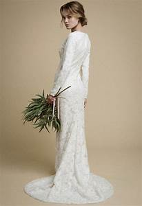 elegant long sleeve wedding dress long sleeved wedding With long sleeve tight wedding dresses