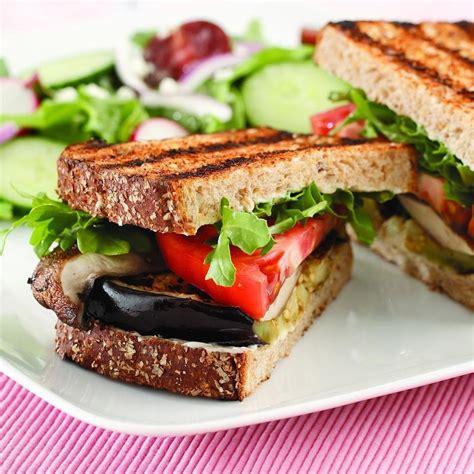 grill eggplant grilled eggplant portobello sandwich recipe eatingwell