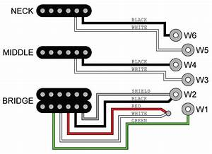 Jtv Pickup Wiring Diagrams - Jtv    Shuriken    Variax Standard    Workbench Hd
