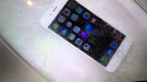 free iphone 6 test and keep dipping an iphone 6 in freeze test