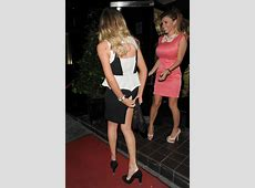 Maria Fowler Skirt Malfunction Celebrities