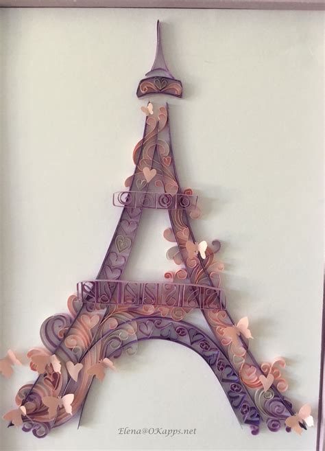eiffel tower quilling quilling and other by okapps net pinterest eiffel towers