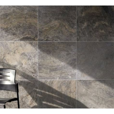 silver grey travertine floor tiles silver grey honed and filled travertine tiles stone tile market